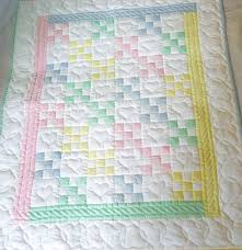 Nine Patch Amish Baby Quilt &  Adamdwight.com