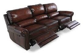 reclining sofa leather reclining sofa