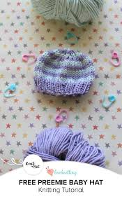 Preemie Hats Knit Free Patterns