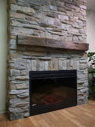 stacked stone fireplaces 8869