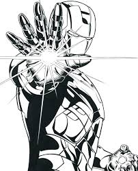 Avengers Coloring Pages Iron Man Coloring The Avengers Coloring