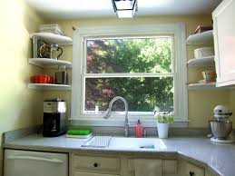Kitchen Window Shelf Decorative Kitchen Shelves Charming Decorative Storage Bins For