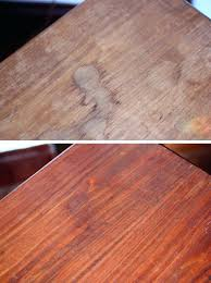 How To Remove Water Stains From Wood Furniture Plans