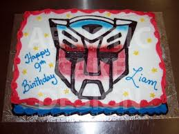 transformers sheet awesome transformers sheet cake google search party cakes