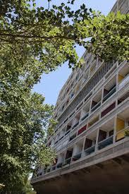 Cité Radieuse Unité Dhabitation Le Corbusier Marseille Ivana