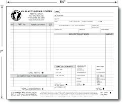 auto repair forms auto vehicle repair estimate template car forms free