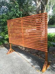 free standing outdoor privacy screens freestanding screen divide an area create from neighbours or use for free standing outdoor privacy screens