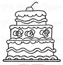 wedding cake clipart black and white. Plain Cake 2 Tier Wedding Cake Clipart Black And White 4 And Wedding Cake Clipart Black White