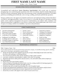Construction Superintendent Resume Examples And Samples