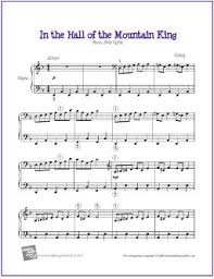 These ebooks can only be redeemed by recipients in the us. Free Sheet Music In The Hall Of The Mountain King For Piano The Piano Student