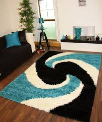 large teal rug black and aqua rug modern teal blue black thick easy clean gy rugs turquoise aqua large teal round area rug