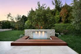 patios design ideas with hot tubs