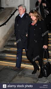 Steve Bruce and his wife Janet Bruce leave a hotel in London Stock Photo -  Alamy