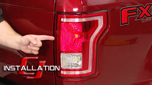 2010 F150 Rear Lights Not Working F 150 Diode Dynamics Led Tail Light And Rear Turn Signal Bulbs 1997 16 Raptor 2010 14 Installation