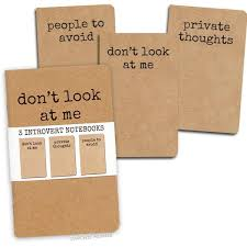 introvert notebooks archie mcphee co   introvert notebooks archie mcphee 2