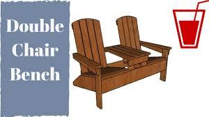twin adirondack chair plans. Wonderful Plans Double Adirondack Chair With Table Plans Intended Twin Adirondack Chair Plans N