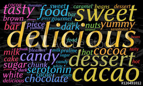 Cloud Saver Delicious Word Cloud Black Water Background Gold Font Bright