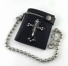 product description desccription hot men wallets with chain