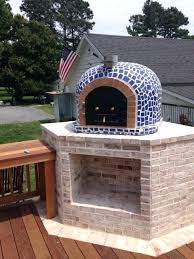 pizza oven fireplace insert bckyrd pizz turil homemde gret