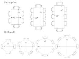 dining room table size for 8 size of round table for 8 8 person round table