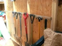 diy garden tool storage garden tool holder perfect after building this tool rack garden tool hangers