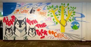 office graffiti wall. commissioned office mural graffiti wall s