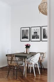Unsere Essecke Mit Betontisch Stuhlmix Essecke Modern