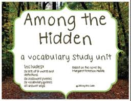 among the hidden vocabulary study unit activities and quizzes by among the hidden vocabulary study unit activities and qu