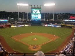 Kauffman Stadium Section 420 Home Of Kansas City Royals