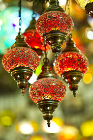 lamp hanging lighting turkey light fixture istanbul style chandelier souvenir fancy middle east grand bazaar turkish culture