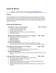 Formidableoduction Manager Resume Sample Pdf With Additional Format