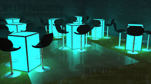 Lighted Cocktail Tables For Rent Led Table Rental Long Island Light Up Cocktail Table Rental