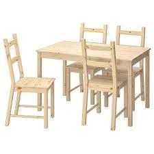 Ikea Ingoivar 5 Piece Dining Set Aptdeco
