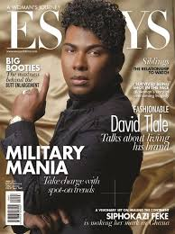 david tlale is on the cover of essays of africa s issue