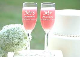 personalized stemless champagne flutes bulk engraved s wedding