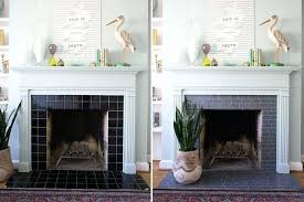 tile fireplace makeover l and stick tile fireplace diy tile fireplace makeover