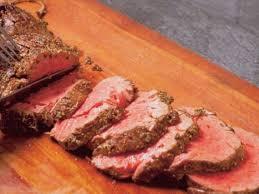beef loin top sirloin cap steak boneless separable lean only trimmed