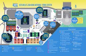 Usta Billie Jean King National Tennis Center Seating Chart Grounds Map Arthur Ashe Kids Day