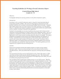 formal lab report example bussines proposal  8 formal lab report example