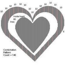 Book Folding Patterns Custom Book Folding Pattern Double Heart S Free By BookFoldingAustralia