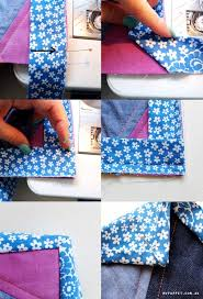 513 best images about Sewing on Pinterest | Free pattern, Doll ... & Perfect mitered binding corner Adamdwight.com
