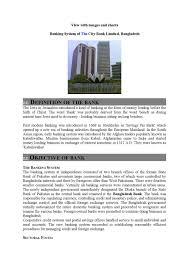 Nrb Bank Dps Chart Banking System Of The City Bank Limited Bangladesh By Regan
