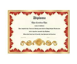 diploma word template 30 real fake diploma templates high school college homeschool