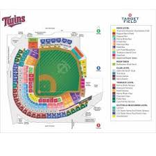 Target Field Seating Chart Pdf Twins Ticket Price History Twinstrivia Com