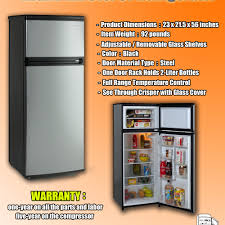 ... Large-size of Double Avanti Rapst Refrigerator Infographic Avanti Rapst  Refrigerator Review Breezer Freezer in ...