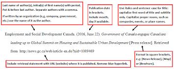 apa format website citation apa style citing a press release apa 6th edition apa