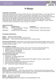 Teacher Cv Teacher Cv Examples Templates And Guidance Cv Template Master
