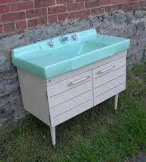 Early 1960s Bathroom Vanity Vintage Bathrooms Retro Bathrooms Vintage Bath
