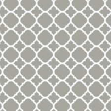 Contact Paper Decorative Designs Liberty 100 in Gray Quatrefoil Adhesive Shelf LinerDLN100GRC 14