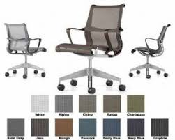 home office arm chair. Herman Miller Setu Chair Home Office Desk Task 5 Star Base With Ribbon Arms Plus Arm